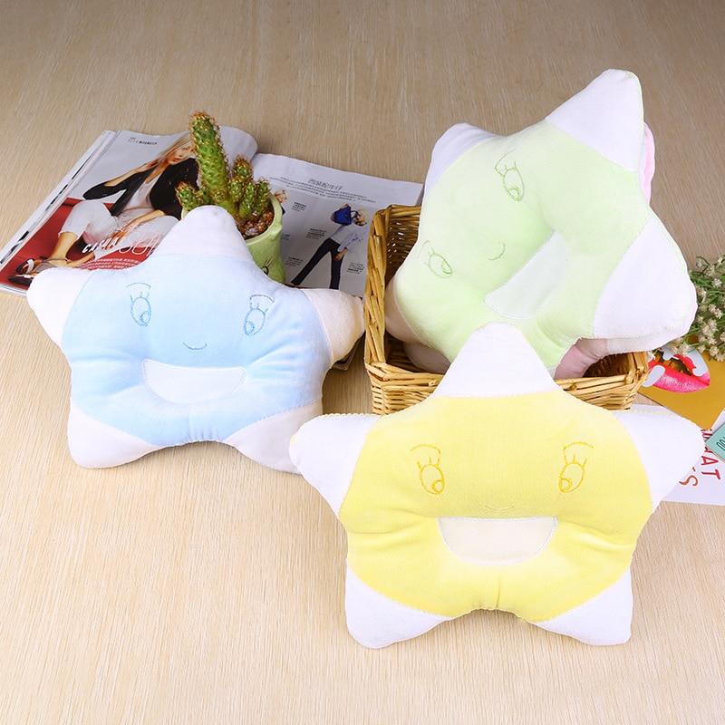 ideacherry Baby Pillow Prevent Flat Head Shaping Pillow For Baby Nursing Pillow Newborns Room Star Decoration Photography Props