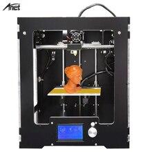 Анет A3 Полный Собранный 3D принтер алюминия-arcylic кадр высокая точность DIY 3D комплект принтера промышленности трехмерной печати