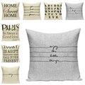 Декоративная подушка с надписью чехол для подушки с принтом, чехол для дивана, декоративная подушка, аксессуары для автомобильного сиденья,...