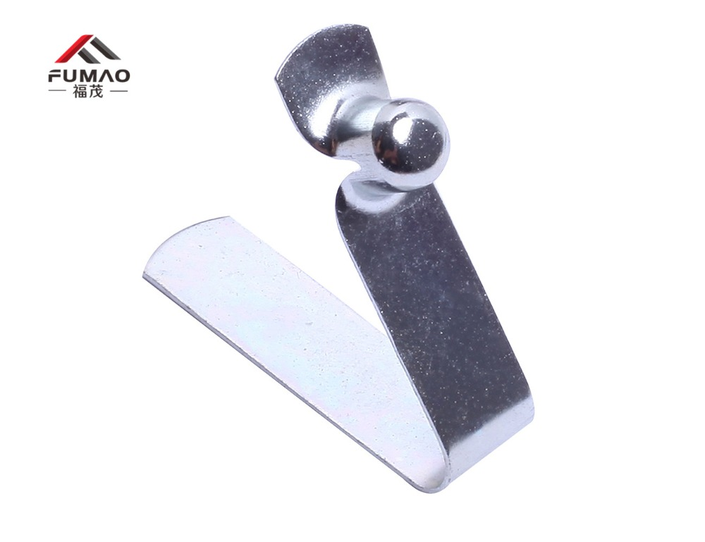Купить с кэшбэком Manufacture wand button lock spring,button spring, pole spring button used for 16-22mm tube