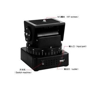 Image 3 - Zifon 전동 원격 제어 팬 틸트 헤드 YT 260 (삼각대 장착 어댑터 포함) 익스트림 카메라 Wifi 카메라 및 스마트 폰용