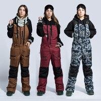 Буря бегун Для женщин Лыжный Спорт Штаны Водонепроницаемый зимние брюки уличные зимние спортивные теплые сноубордические брюки Женская зи