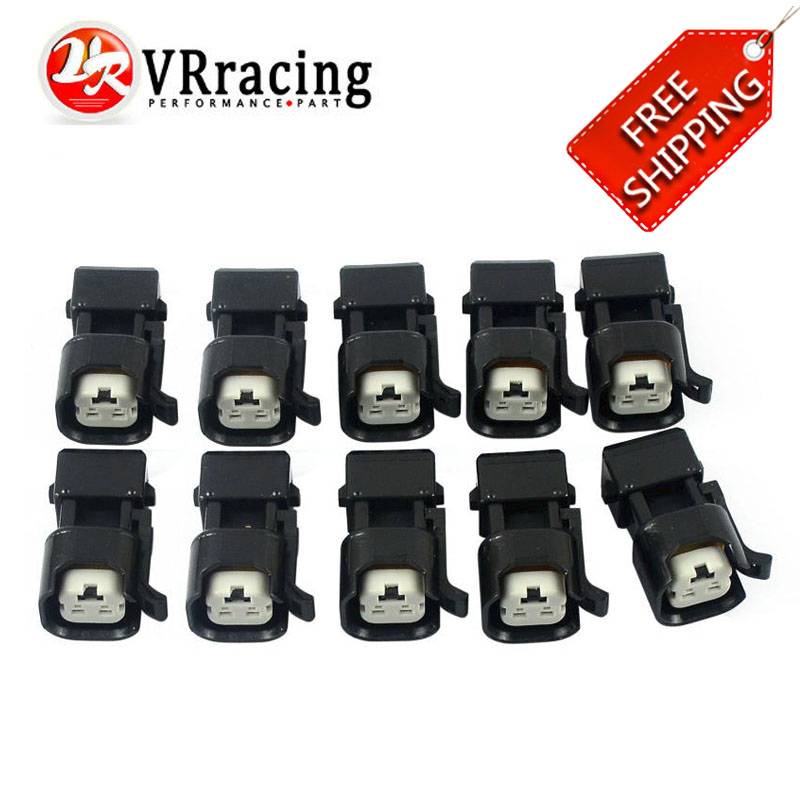 FREE SHIPPING EV1 To EV6 USCAR Wholeness Fuel Injector Connectors Adapters 10PCS/LOT Fuel Injector Connector for US cars ev1 fuel injector 2 pin way electrical wire connector plug automobile connectors suitable for eberspacher
