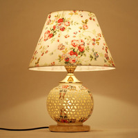 TUDA 30X44cm Free Shipping Modern Chinese Style Table Lamp Romantic Design Ceramic Table Lamp Fashionable Decoration
