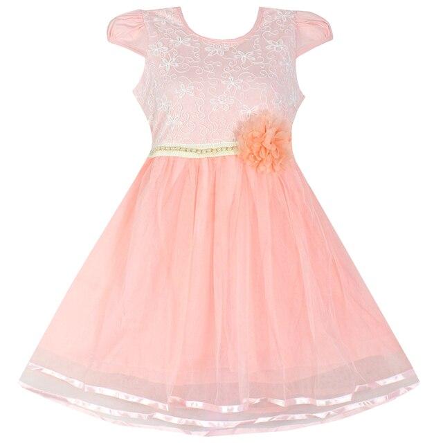 Vestido de la muchacha de flor vestido de la muchacha del verano ...