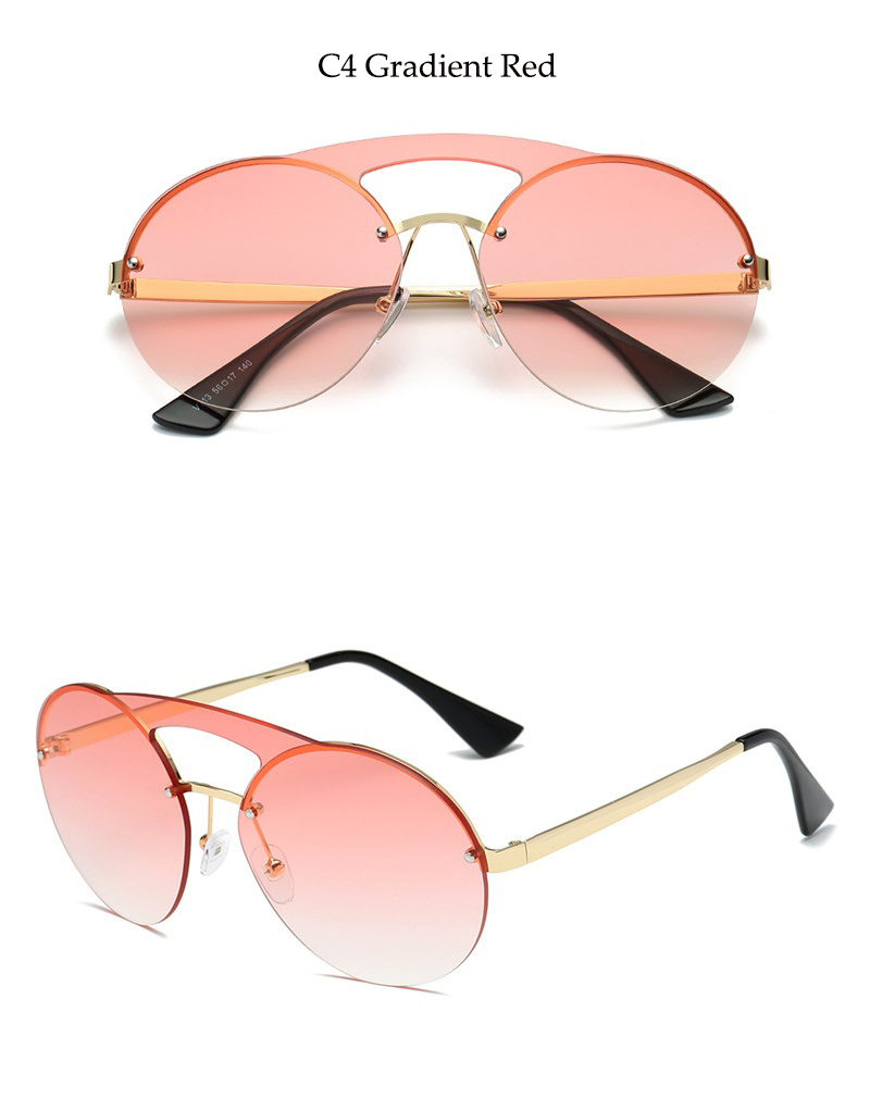 d475b1db4b2ff Detail Feedback Questions about Round Aviation sunglasses pink ...