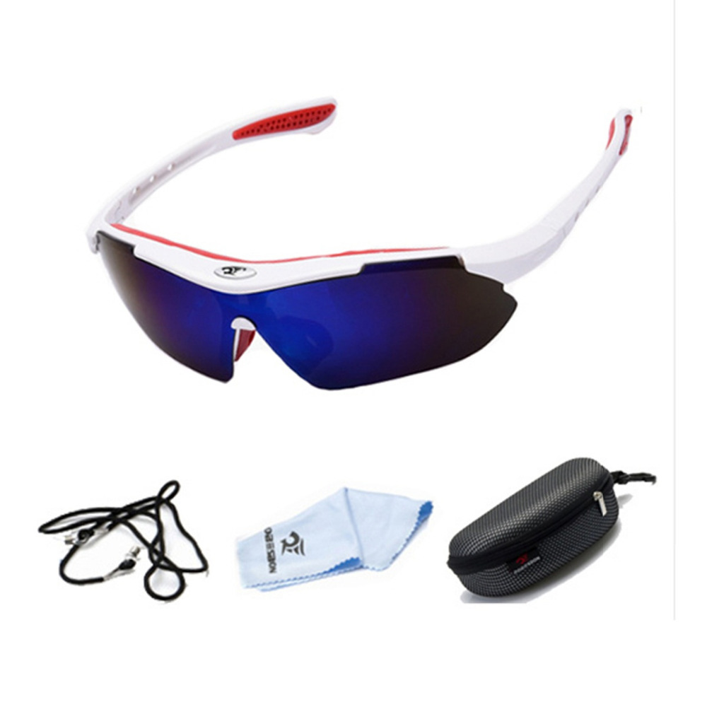 ROBESBON Outdoor Sports Bicycle Cycling Eyewear UV400 Sunglasses Polarized for Road Bike Windproof sand Glasses Goggles Tactical