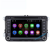 Two Din 7 Inch Android 7 1 Car DVD Player For VW Polo Jetta Tiguan Passat
