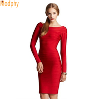 New Arrival HL Evening Dress 2013 Celebrity Full Long Sleeve Good Elastic Cocktail Party Foraml Gowns