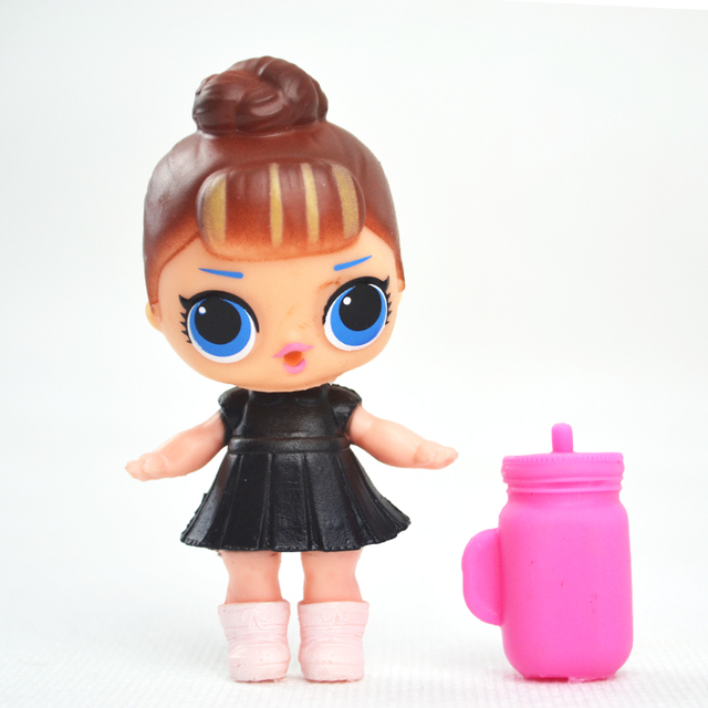 DIY Mini Hard Plastic Baby Doll