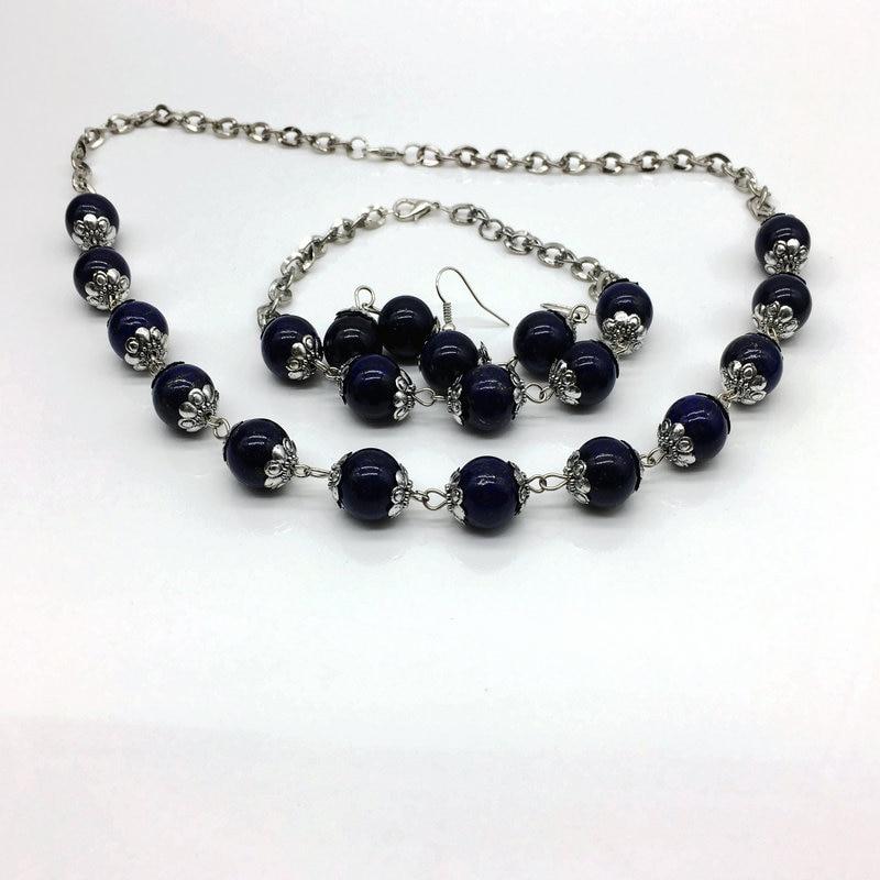 Neue Schmuck-Sets Halskette Sterling African Set 1'set Hot Fashions - Modeschmuck - Foto 2
