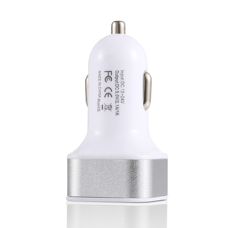 2.1A 1A կրկնակի ելքային USB մեքենայի - Բջջային հեռախոսի պարագաներ և պահեստամասեր - Լուսանկար 6