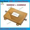 Dual Band FDD 2 Г GSM 900 МГц + 3 Г WCDMA 2100 МГц Repetidor де sinal де celular Ретранслятор GSM 3 Г Сотовый Телефон Усилитель Сигнала усилитель