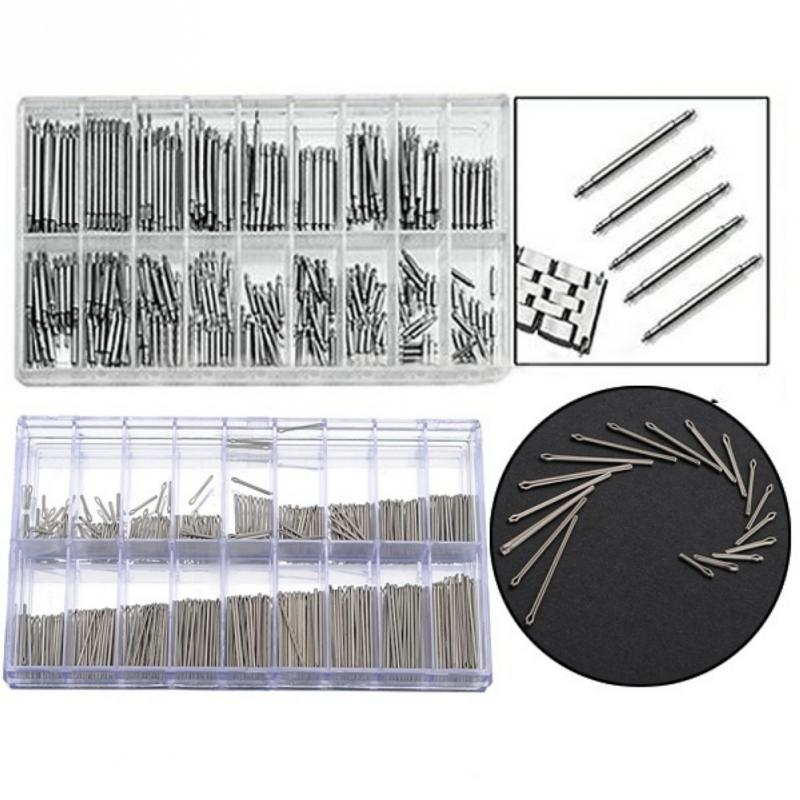 New Arrival 360pcs Assortment Cotter Pins For Repairing Watch Band Link Repair Tool Sets 18 Size 6mm-23mm