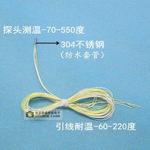 Image 2 - Ultra Small Pt100 Temperature Sensor Platinum Resistance PT1000 Temperature Probe 2mm Diameter 234 Lines