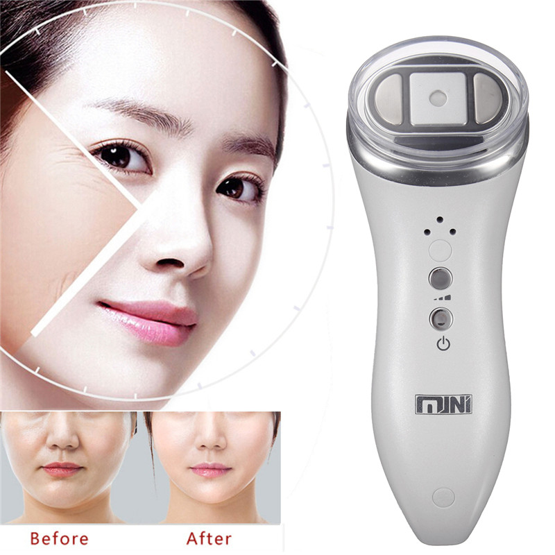 Ultrasound Hifu Rejuvenation RF Face Lifting Wrinkle Removal High Intensity Focused Skin Lift Machine Face Skin Care Tools ultrasonic mini hifu high intensity focused ultrasound facial lifting machine face lift rf led anti wrinkle skin care spa beauty