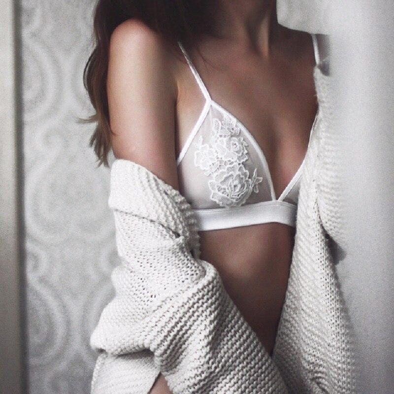 Nytt märke plus storlek ultratin trådlösa underkläder sätter - Underkläder