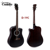 Connie 2018 New Folk Acoustic Guitar Wood Color Vintage Spruce Color Mahogany Wood Manufacture of Musical Instruments and Access