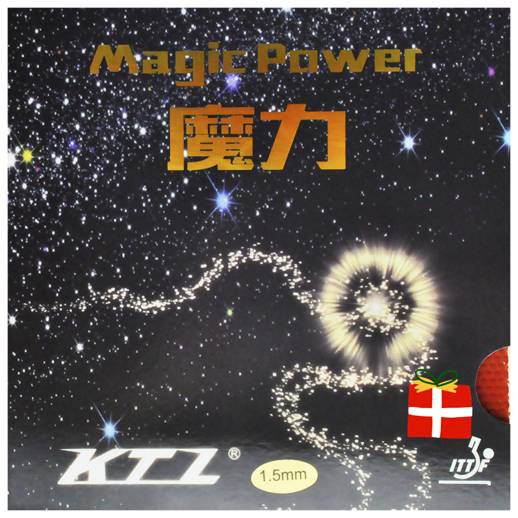 [Playa PingPong] KTL Magic Power Half Long Pips Out Table Tennis (PingPong) Rubber with Sponge