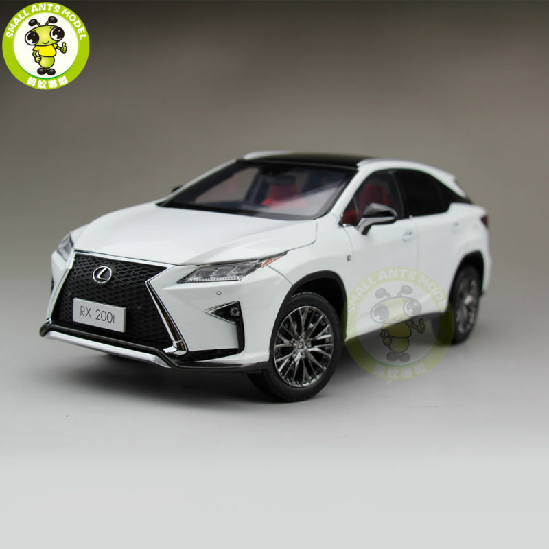1/18 RX 200T RX200T Diecast Model Car Suv Hobby Collection Gifts White Color