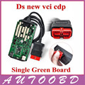 Super ! Best Sale Single Board TCS CDP PRO Without Bluetooth Green Board PCB With Japan NEC Relay Chip No BT OBD OBDII San Tool