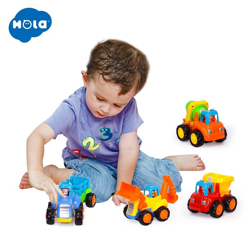 Bébé jouets Bebe Presentes apprentissage Inercia Animis Brinquedos Carrinhos e Veiculos livraison gratuite Huile jouets 326 & 366D-X - 4
