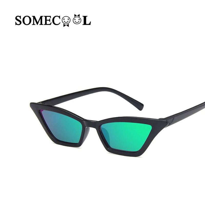 f435384d8f SomeCool 2019 lindo niños gafas de sol ojo de gato marco Delgado bebé 3-6