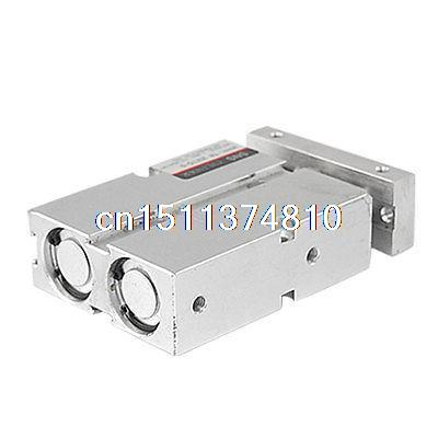 ФОТО Twin Rod Double Acting Pneumatic Air Cylinder 20 x 15