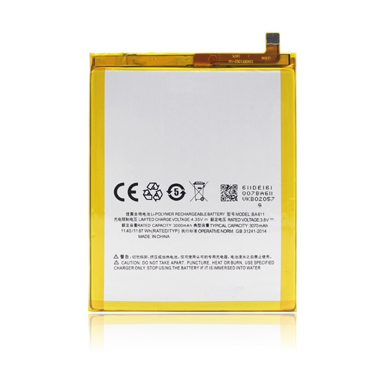 Ba611 Батарея для Meizu <font><b>M5</b></font> Батарея 3070 мАч с номером отслеживания
