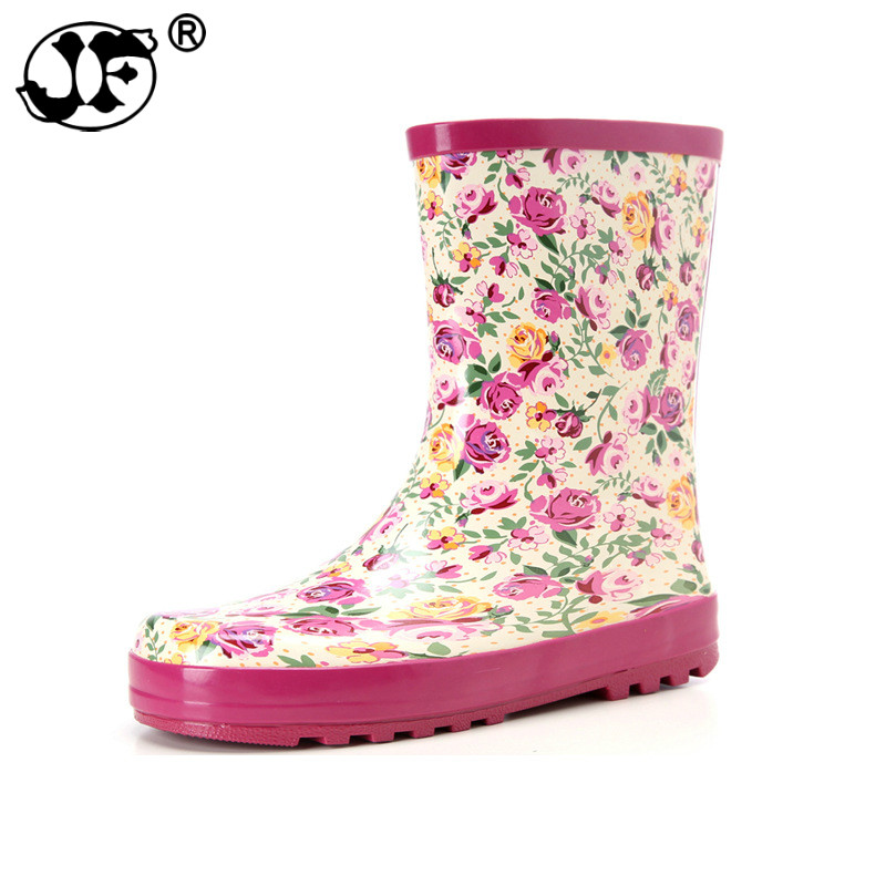 2019 Fashion Band Solid Women Rain Boot Waterproof Women Boots Rubber Jade Stretch Shoes2019 Fashion Band Solid Women Rain Boot Waterproof Women Boots Rubber Jade Stretch Shoes