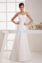 free shipping 2014 formal dresses new design hot sale brides maid dress beading custom size/color white chiffon Bridesmaid Dress