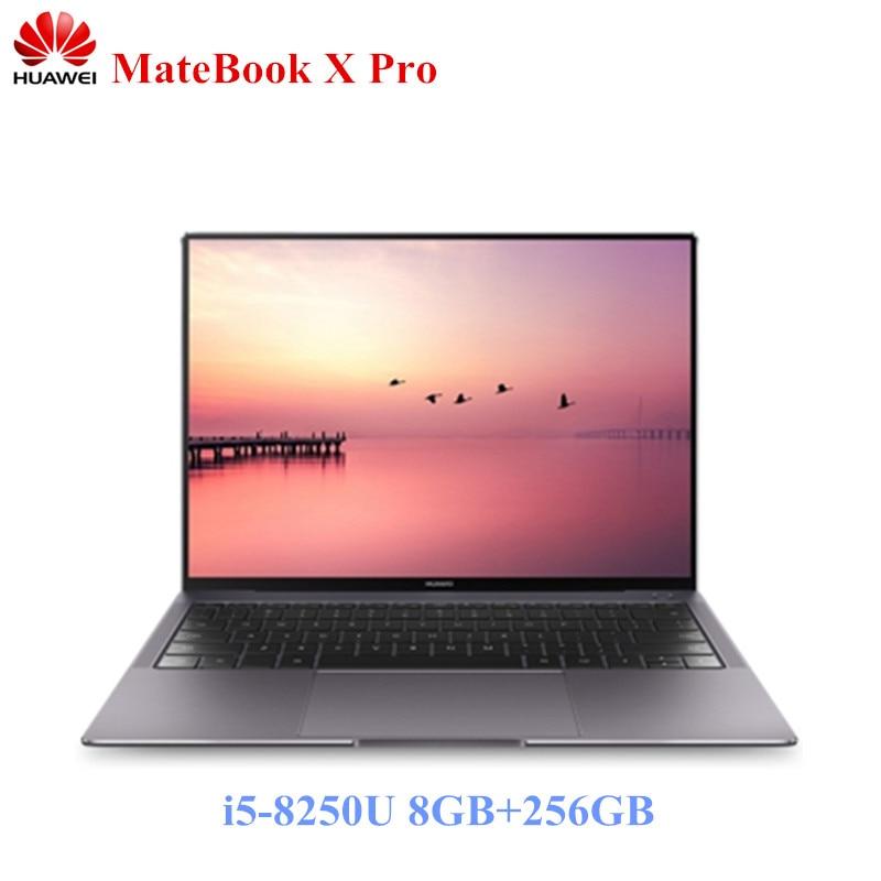 HUAWEI MateBook X Pro 13.9 Ordinateur Portable Intel i5-8250U Portable 8 gb LPDDR3 256 gb SSD GeForce MX150 3000*2000 Graphique Dédiée PC