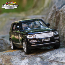 15CM Length Diecast Range Rover Car, 1:32 Scale Model, Boys/Kids Toys With 6 Openable Doors/Pull Back Function/Music/Gift Box