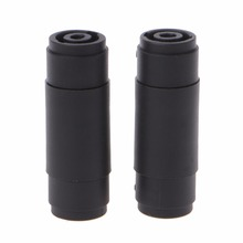 2 Pcs 4-Pin Pole Female To Female Speakon Coupler Adapter Audio Cable Connector promotion 50 pcs 616e 4p4c rj9 female telephone connector adapter w 4 wires 8cm