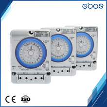 5 pcs price discount 220V mechanical timer switch with 96 times on /off per day minimum setting unit 15 mins free shipping OBOS