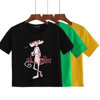 "Хлопковая футболка ""Розовая пантера"""
