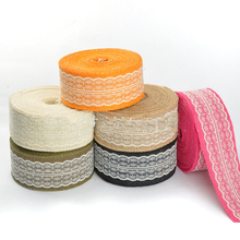 10m lace linen ribbon trim satin sewing bias for handicrafts ribbons DIY for wedding gift wrapping Sewing Decoration accessories 6yards lot mix printed trim geometric ribbons diy wrapping wedding party hair bow decoration art sewing accessories 040054006