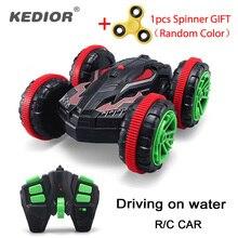 1 18 Nitro Rc Stunt Car Off road Buggy 2 4G 4wd Rc Drift Car Can