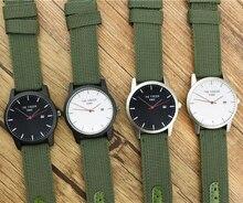 2018 Marca de Luxo dos homens Novos da marca Data Relógio de Quartzo Homem De Couro Militar Do Exército Relógio de Pulso Homens Esportes Relógios Relogio Masculino