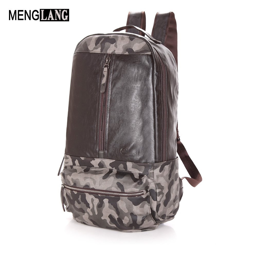 High Quality Mens Backpack Practical Genuine Leather Famous Brand Casual Laptop Backpack For Men Black School Travel Backpack s c cotton brand backpack men good quality genuine leather