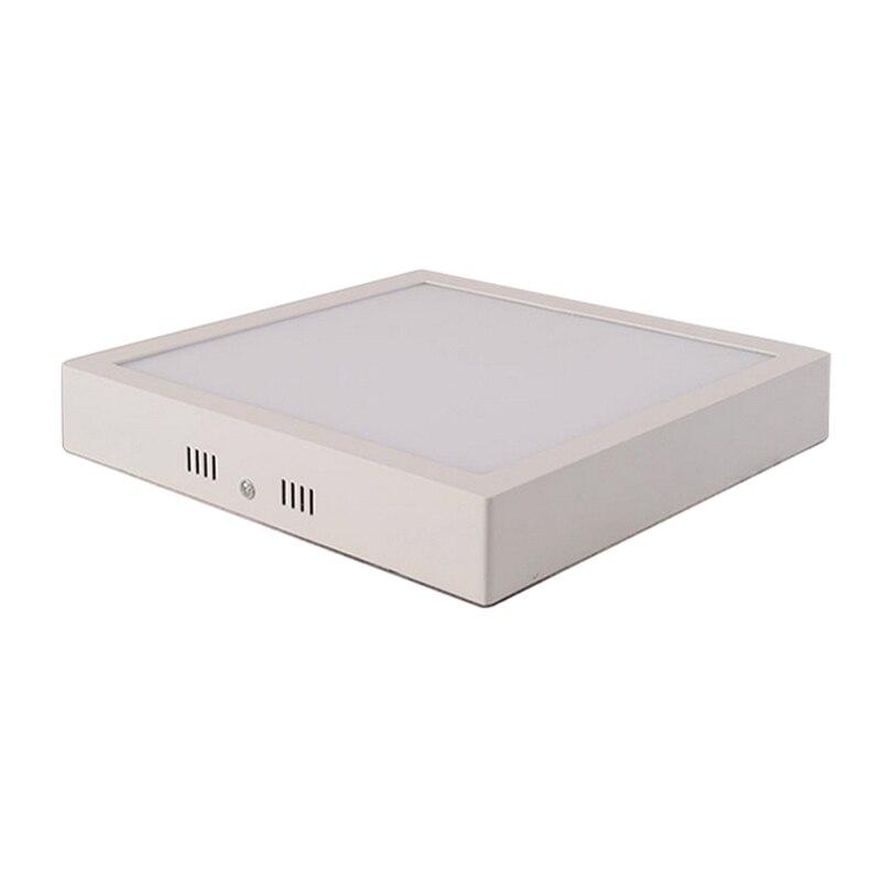Свет поверхности потолка AC85V-265V 6 Вт 12 Вт 18 Вт Кухня свет квадратный тип поверхностного монтажа SMD2835