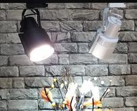35W PAR30 E27 LED Track Light aluminum Ceiling Rail Track lighting Spot Rail Spotlights Replace Halogen Lamps AC85 265V