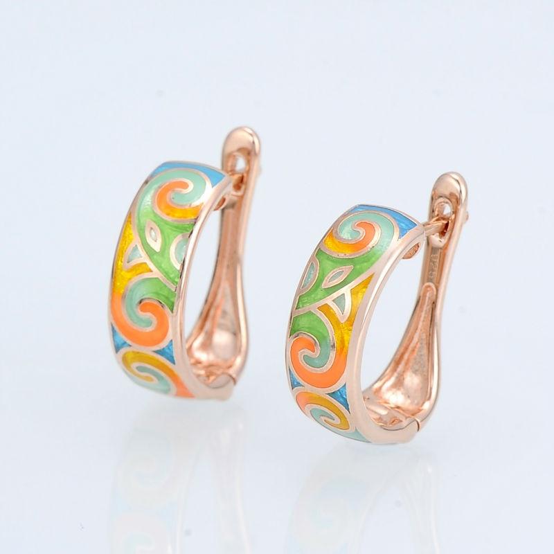 E303903ENM4SR925-SV4-Silver Earrings