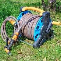 Garden Hose Reel Stand Water Pipe Storage Rack Cart Holder Bracket for 35m 1/2 Inch Hose SLC88