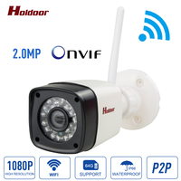 IP Camera 1080P HD CCTV Video Surveillance Security Wifi Camera Onvif2 0 4 Day Night P2p