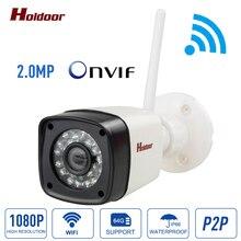 Ip-камера 1080 P HD ВИДЕОНАБЛЮДЕНИЯ Видео видеонаблюдения wi-fi беспроводная камера onvif 2.0.4 день/ночь p2p крытый веб-камера 1920*1080 2.0MP