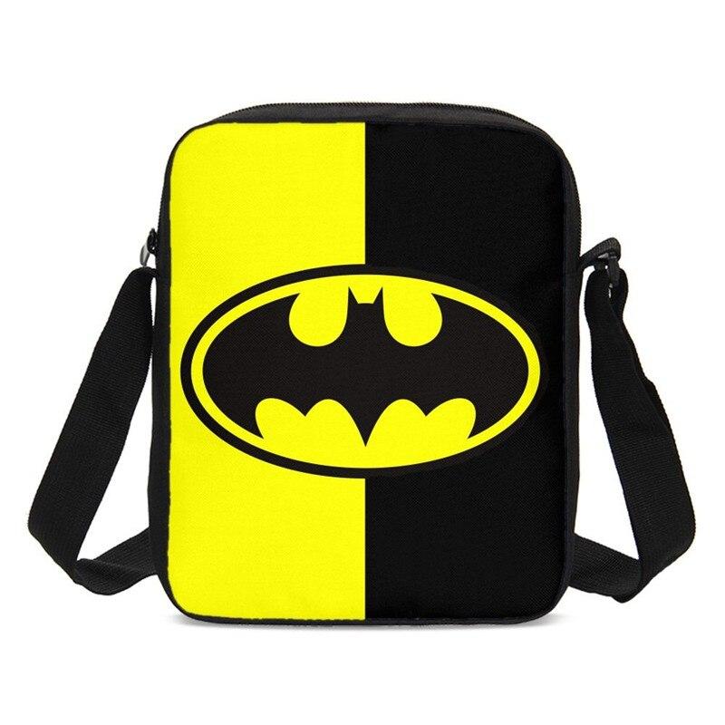 Crossbody-Bags Handbags Batman Small Fashion Letter Casual for Boys Girls Cool Super-Hero