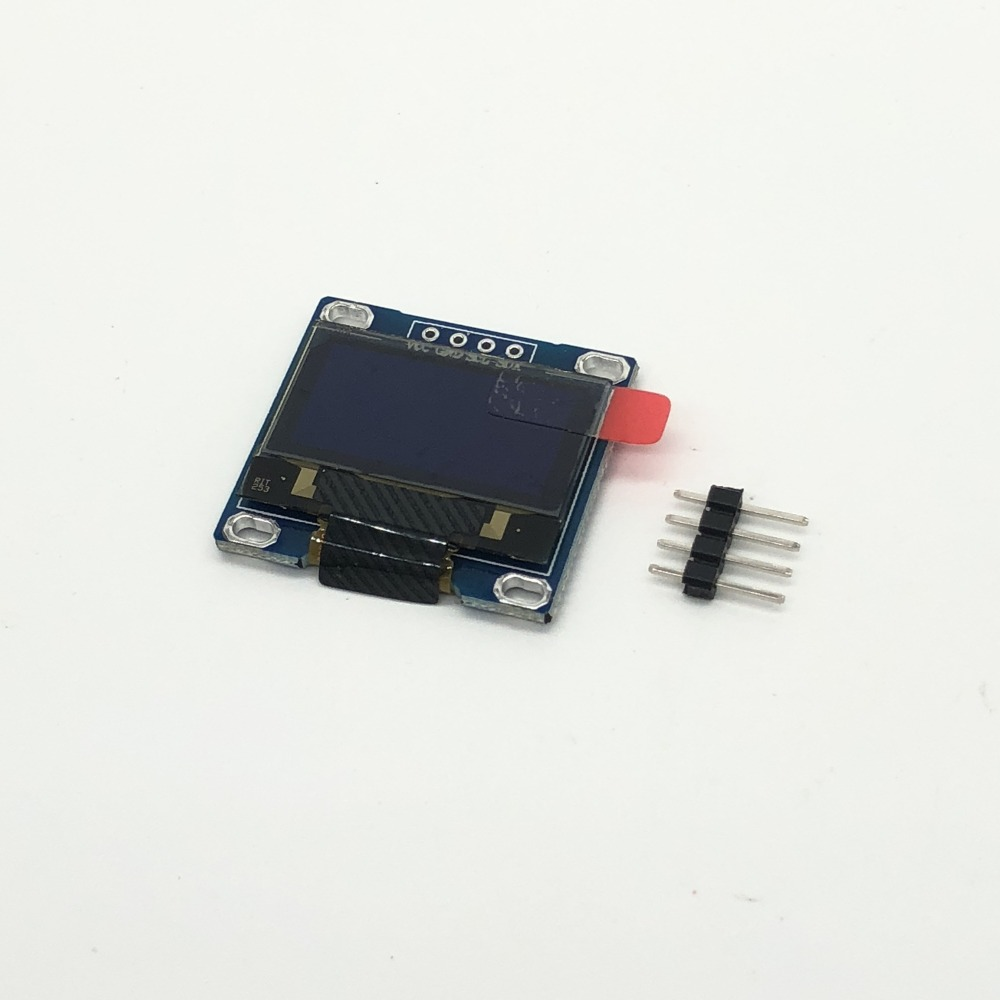 ShenzhenMaker 0.96 Inch 4Pin White IIC I2C OLED Display Module 128X64 LED For Arduino OB