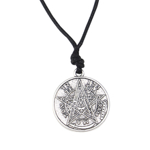 Buy tetragrammaton pendant and get free shipping on aliexpress fashion lychee supernatural tetragrammaton pentagram mozeypictures Gallery
