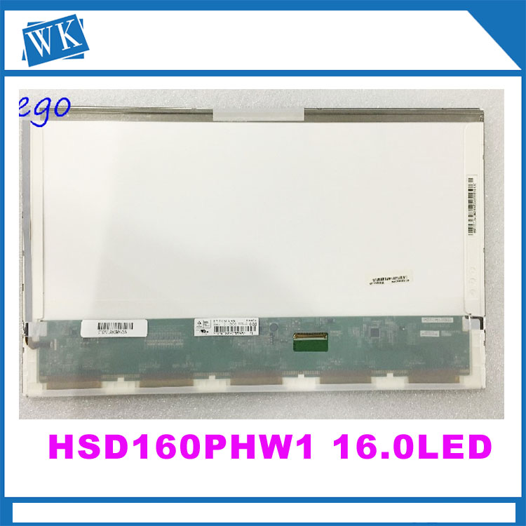 HSD160PHW1 HSD160PHW1-B00 LTN160AT06 16 pouce led Pour ASUS N61 N61vg N61JV HP DV6 CQ61 K61IC Ordinateur Portable LCD LED Écran D'affichage matrice